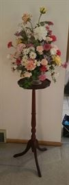 Plant stand approximately 3 feet tall