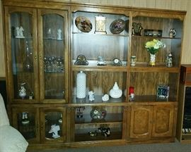 Three piece entertainment center (willing to sell as set or individually)