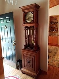 Grandfather clock from Germany