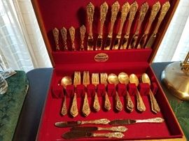 Sterling Rosepoint flatware