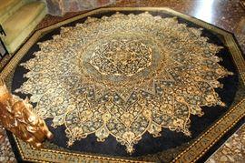 Beautiful Couristan octagonal wool rug