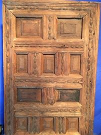 Early 1800's Door Done with No Nails