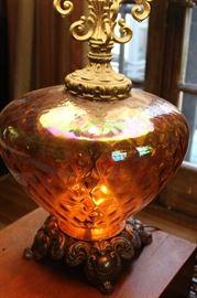 Vintage/retro glass lamp
