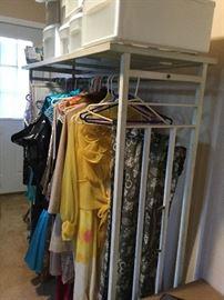Wrought Iron Clothing Rack