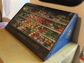 Antique Thread and Case