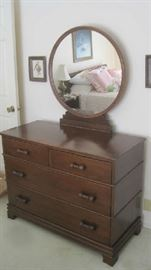 Davis Cabinet dresser- style # 135 walnut