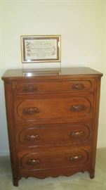 Davis Cabinet Lillian Russell  chest of drawers