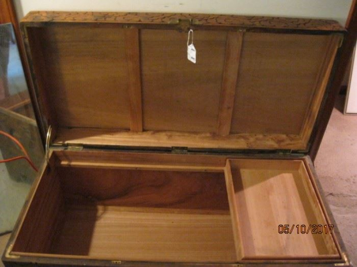 Interior camphor chest