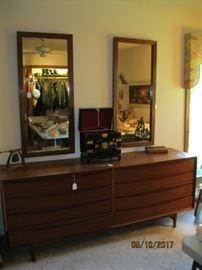 Dresser or credenza designed by Arne Vodder teak finish
