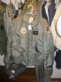 USAF Flight jacket with patches