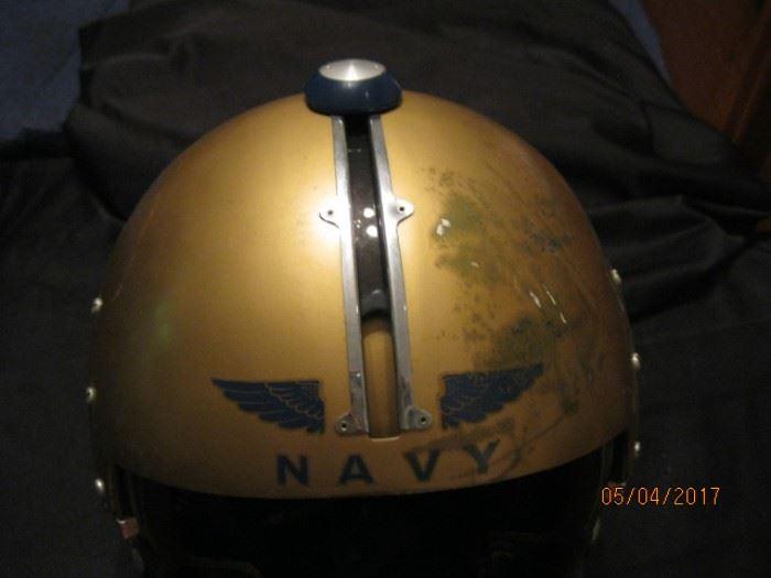 APH-5 US Navy Vietnam Fighter pilot helmut