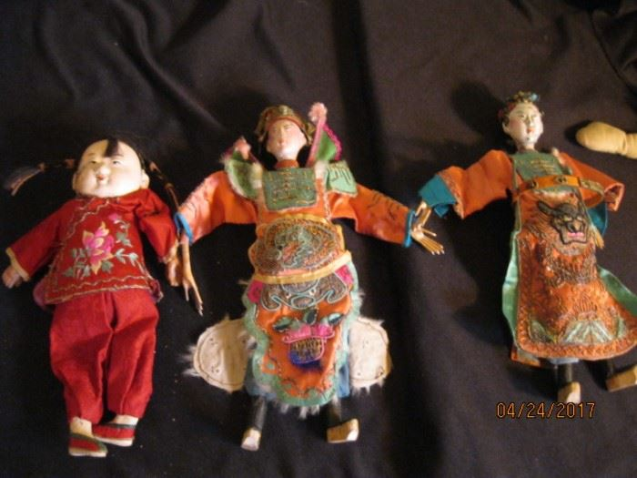 Chinese theater puppets