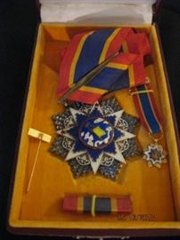 WW II Chinese Order of the Cloud and Banner