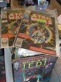 Well maintained Star Wars comic collection. First issue 1977!