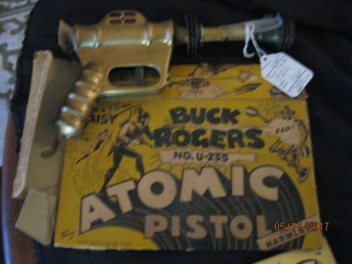 Buck Rogers Atomic Pistol with box