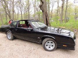 1986 Monte Carlo SS restored to original