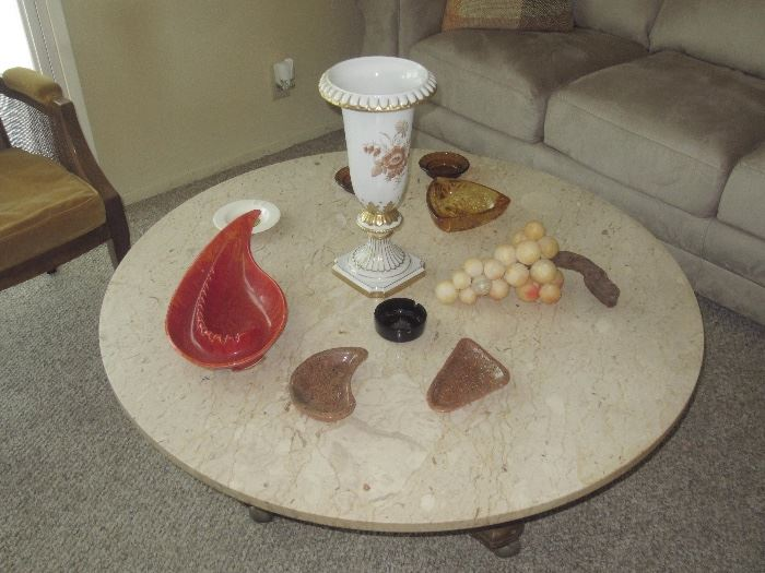 Mid Century ashtrays