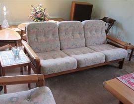 Danish Modern circa 1970 Sofa