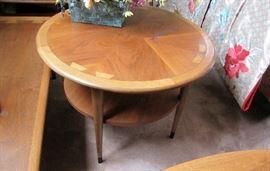 Inlaid Lane Table