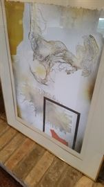 Original Signed and Numbered Laszlo Dus Lithograph