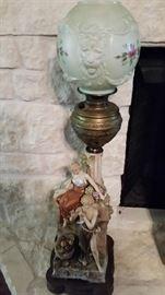 Rare Meissen? Oil Lamp