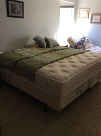 King size mattress & box spring