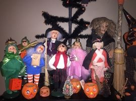 BRYERS CAROLERS/ TRICK OR TREATERS , FEATHER TRESS