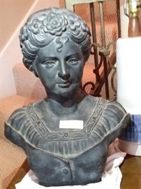 Cast Iron Bust
