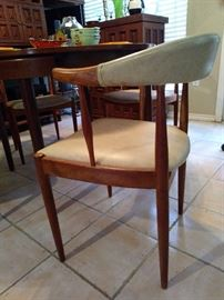 Mid Century Chairs Set of 4