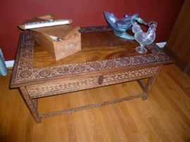 Asian Carved Table