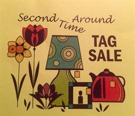 """Cedars Scholarship Program """"Second Time Around"""" tag sale"""