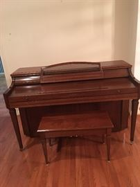 Lovely upright piano