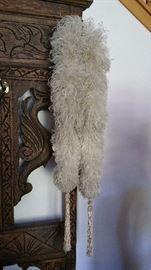 antique feather boa