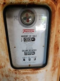 Face of Gas Pump