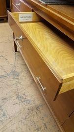 MCM 12 Drawer Widdicomb Dresser