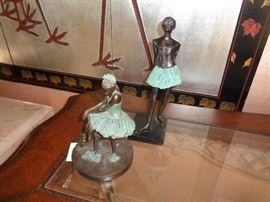 Small bronzes, we have large ones also