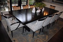 Holly Hunt Dining Table from Merchandise Mart (Chairs Not Available)