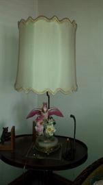 Vintage Cockatiel Lamps