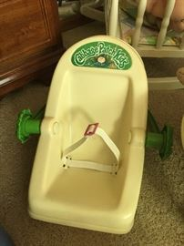 Cabbage Patch Kids carseat