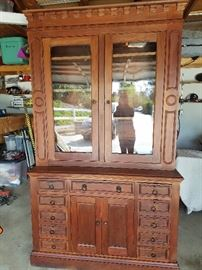 Civil War Walnut Cabinet