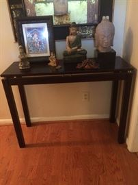 hall table -- made in Thailand