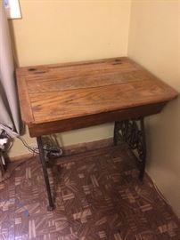 vintage / antique student desk