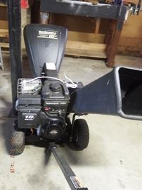 yard machine 3 way chipper 10 hp $ 290.00