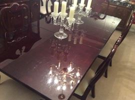 Beautiful Cherry  Table & 8 chairs