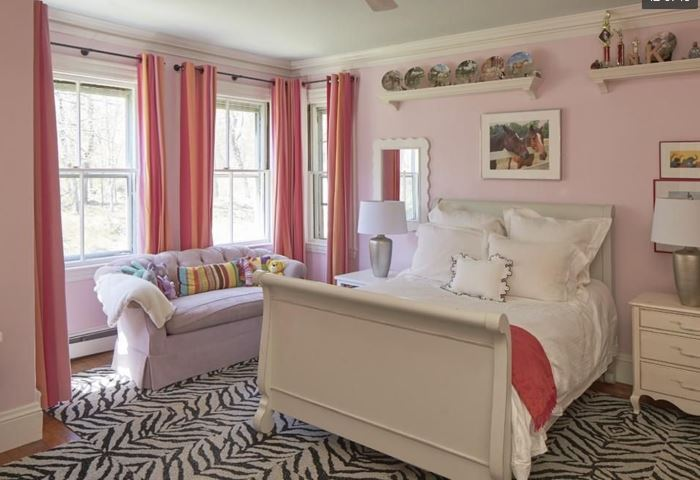 Here is another bedroom - darling!