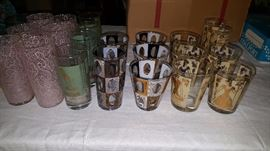 Mid century barware