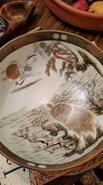 Rare Japanese Bowl Very Old