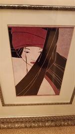 Signed Japanese Print