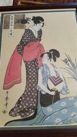 Original Japanese Woodblock- Signed