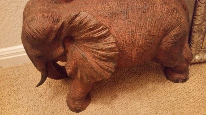 Resin Elephant